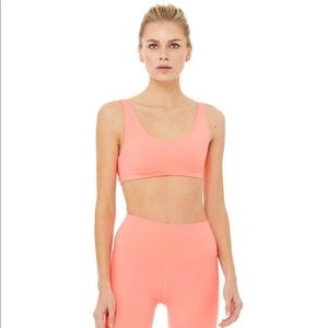 Alo Yoga LIMITED-EDITION Ambient Neon Bra